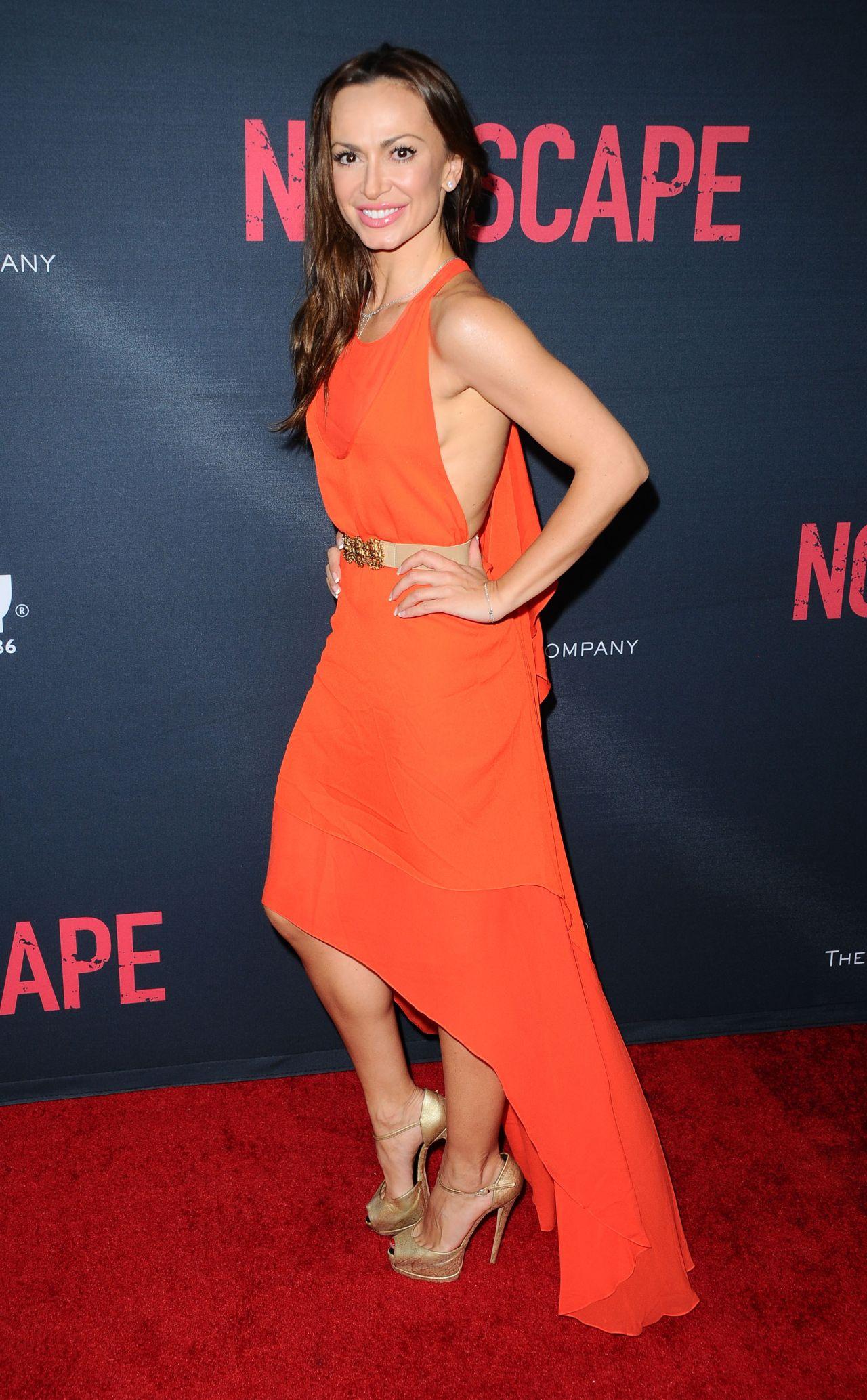 Karina Smirnoff  No Escape Premiere in Los Angeles