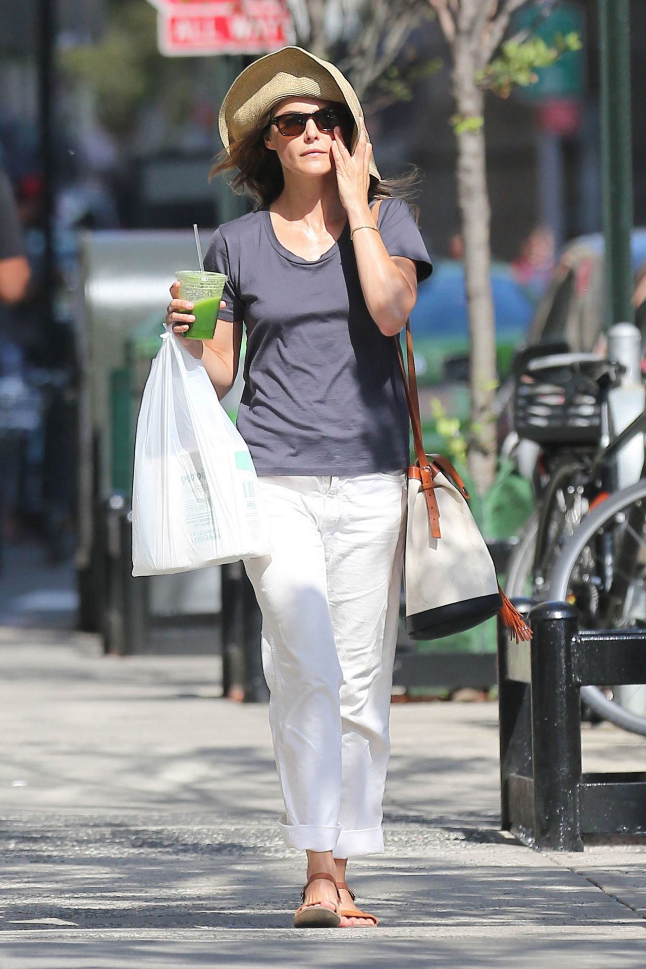 Keri Russell  Out in NYC August 2015
