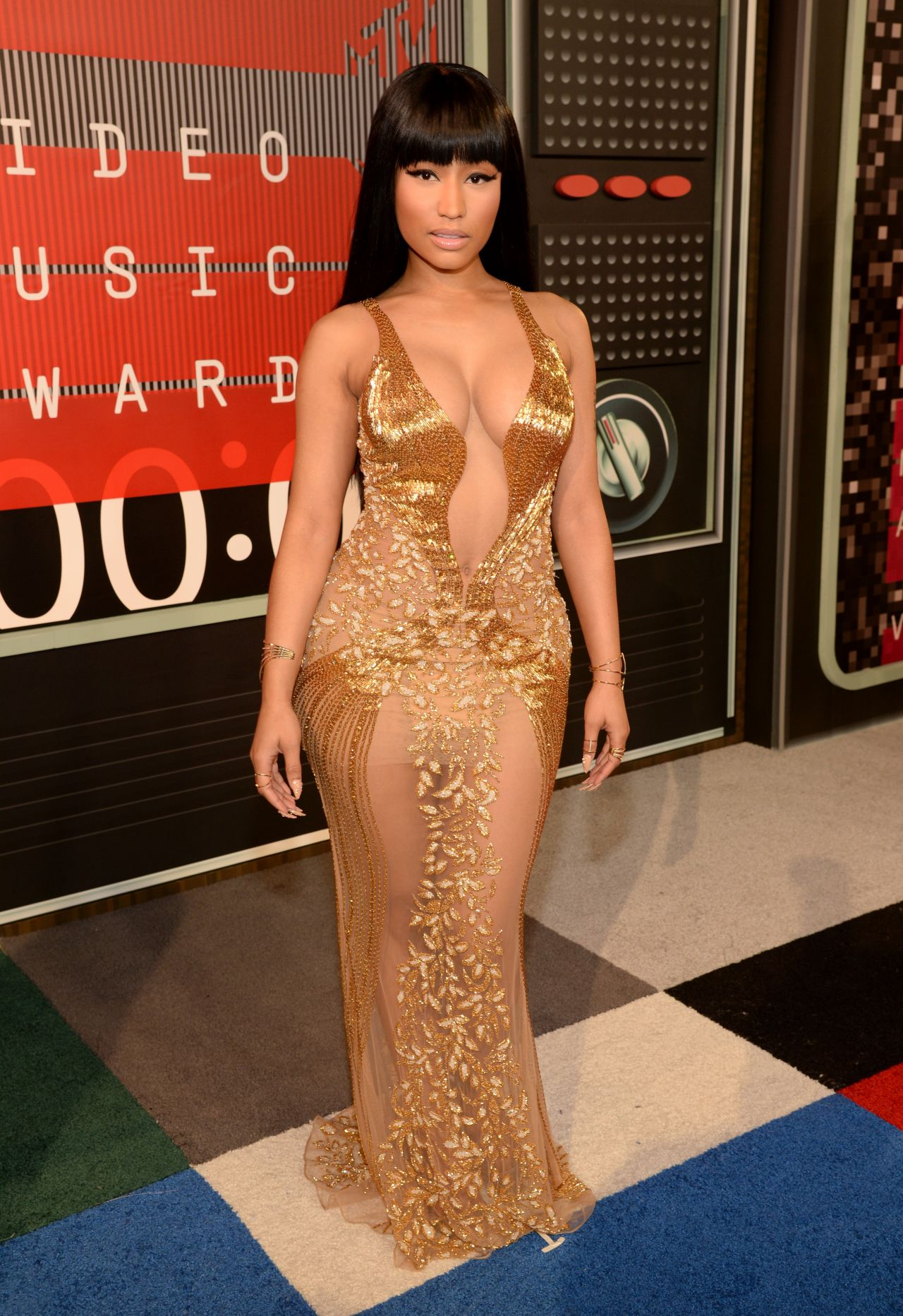 Nicki Minaj  2015 MTV Video Music Awards at Microsoft Theater in Los Angeles