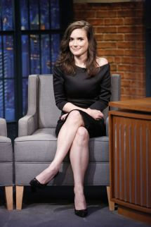 Winona Ryder 'late Night With Seth Meyers' In York