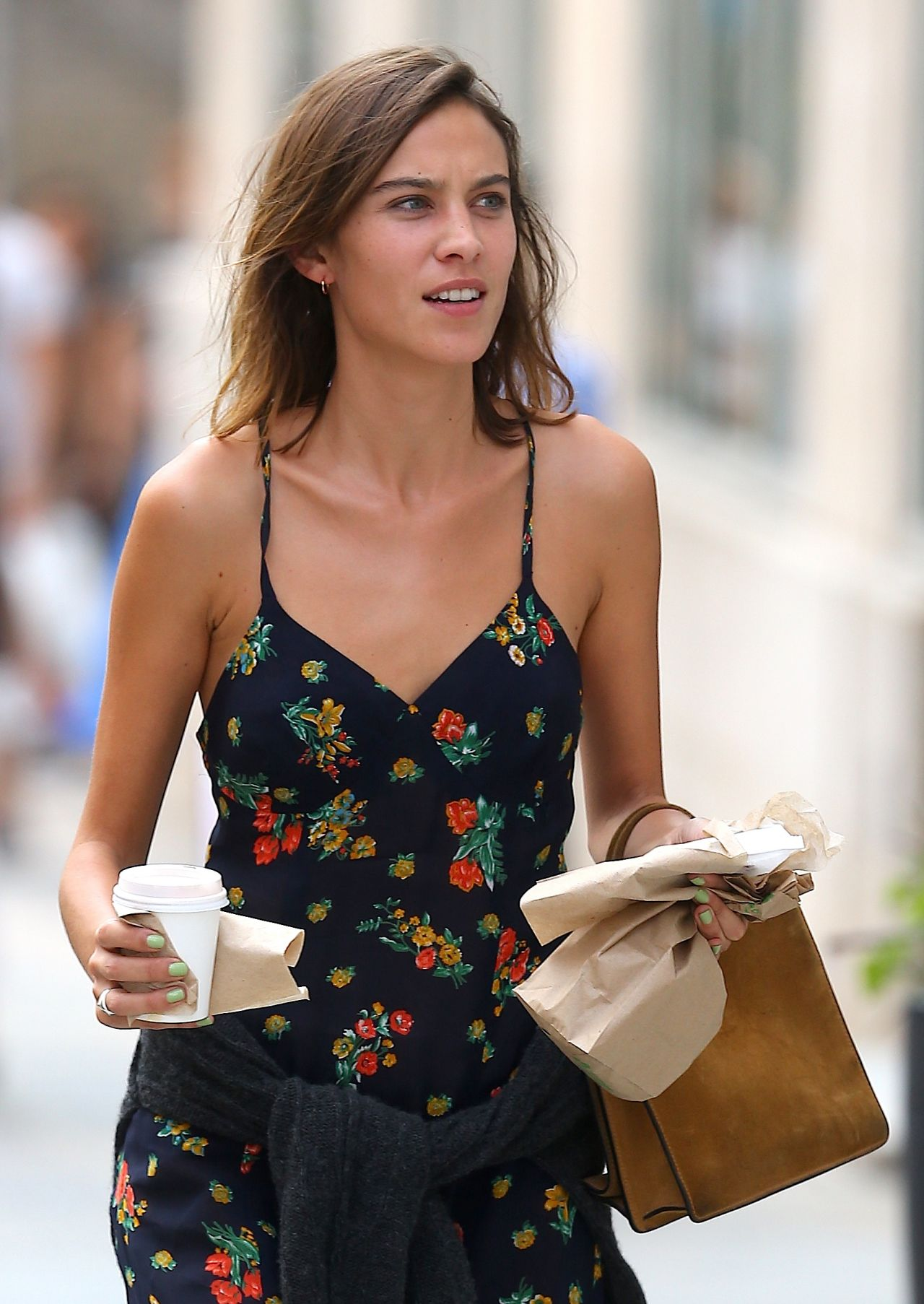 Alexa Chung Summer Style Out In NYC August 2015
