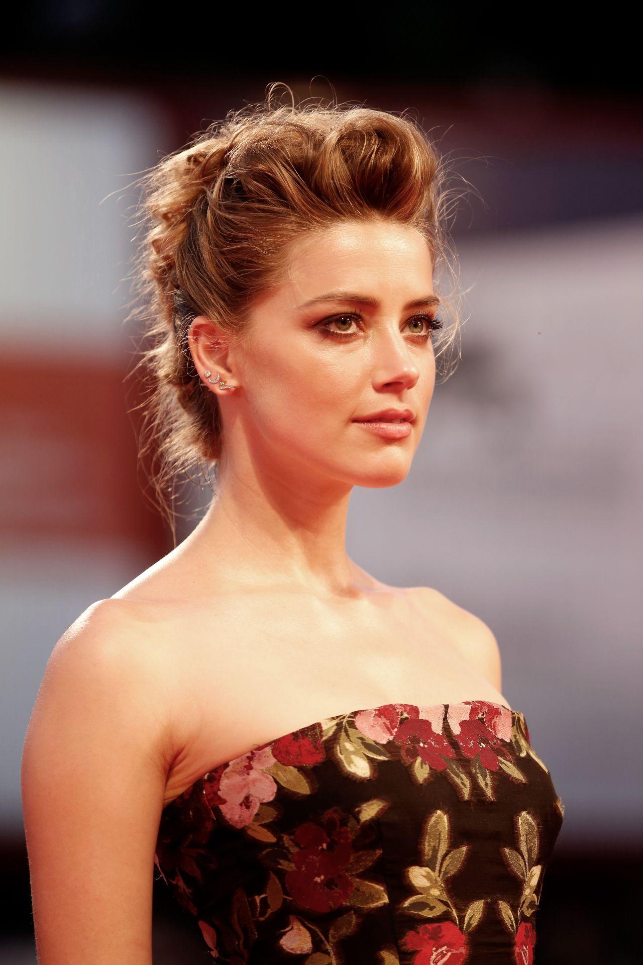 Amber Heard The Danish Girl Premiere 72nd Venice