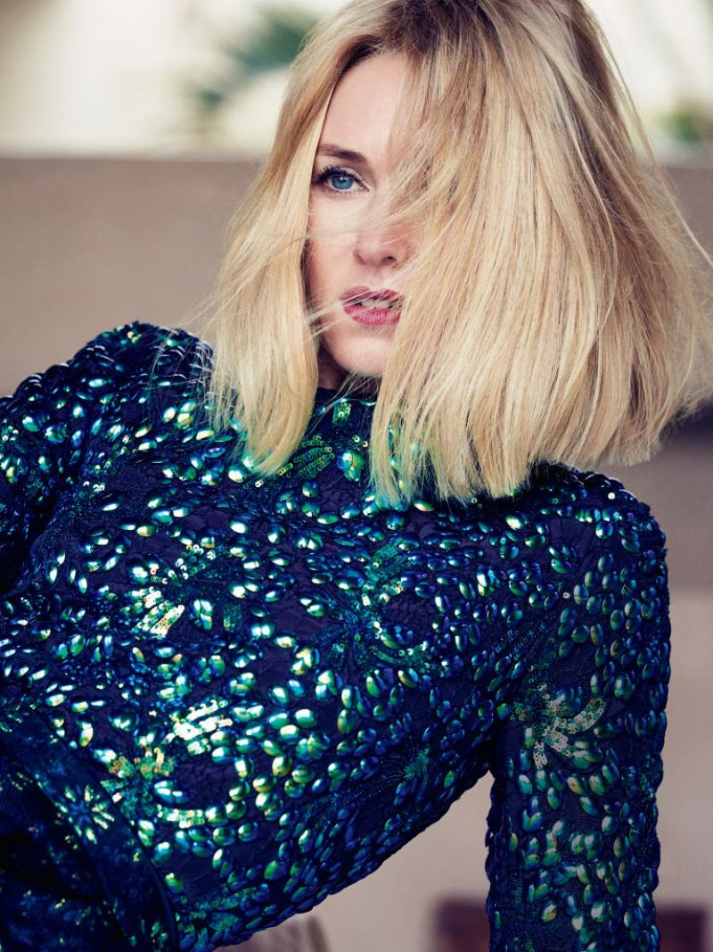 Naomi Watts  Photoshoot for Vogue AU October 2015