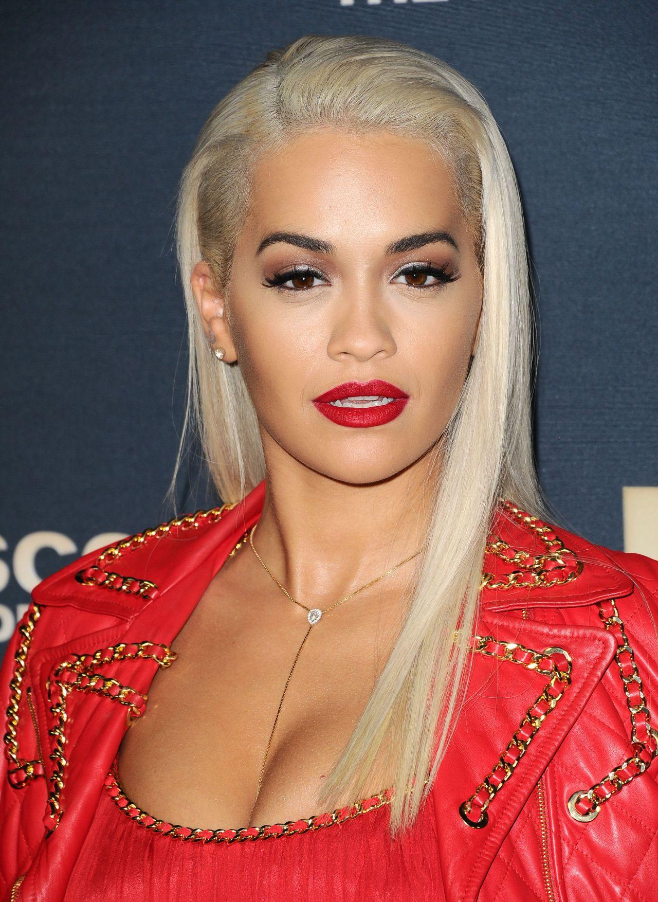 Rita Ora  Jeremy Scott The Peoples Designer Premiere in