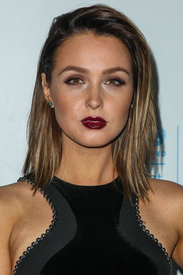 Camilla Luddington 2015 Unicef Black & White Masquerade