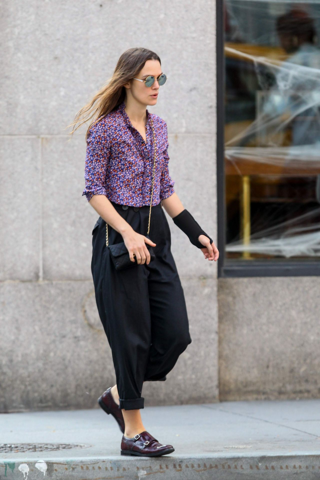 Keira Knightley Street Style Out In New York City