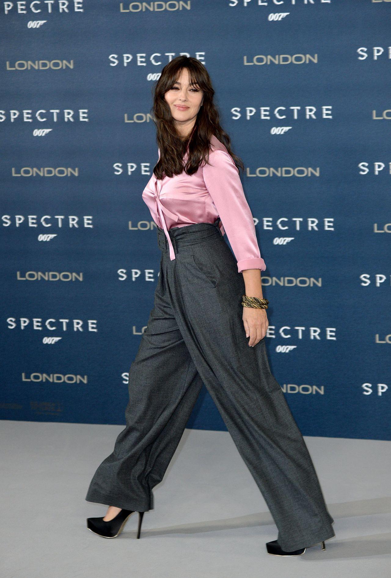 Monica Bellucci  Bond Spectre Photocall at Corinthia Hotel in London