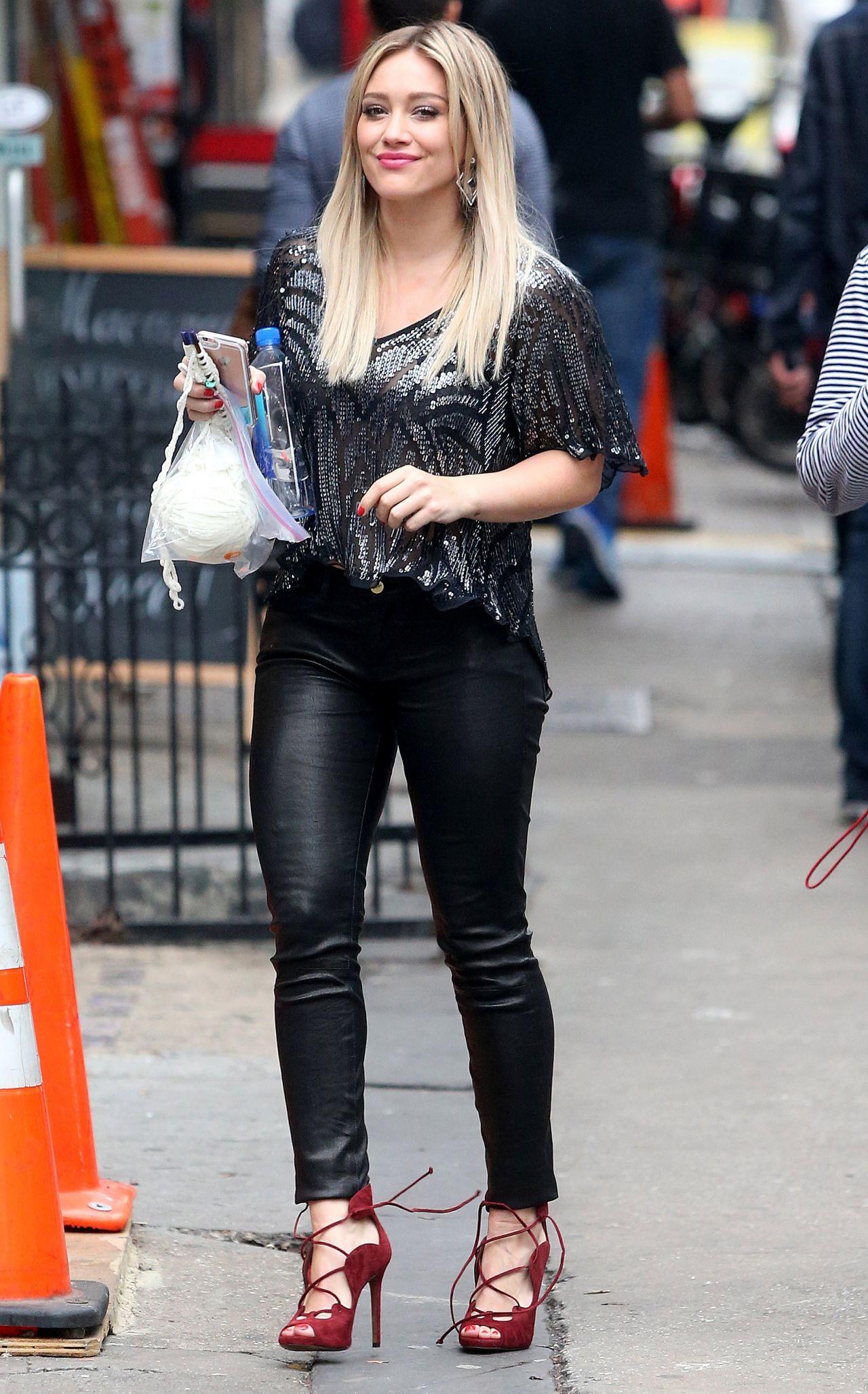 Hilary Duff  Younger Set Photos  New York City November 2015