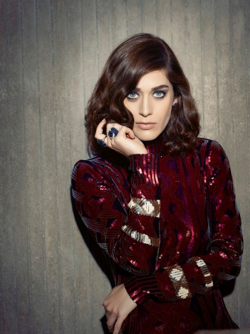 Lizzy Caplan Photoshoot For The Untitled Magazine