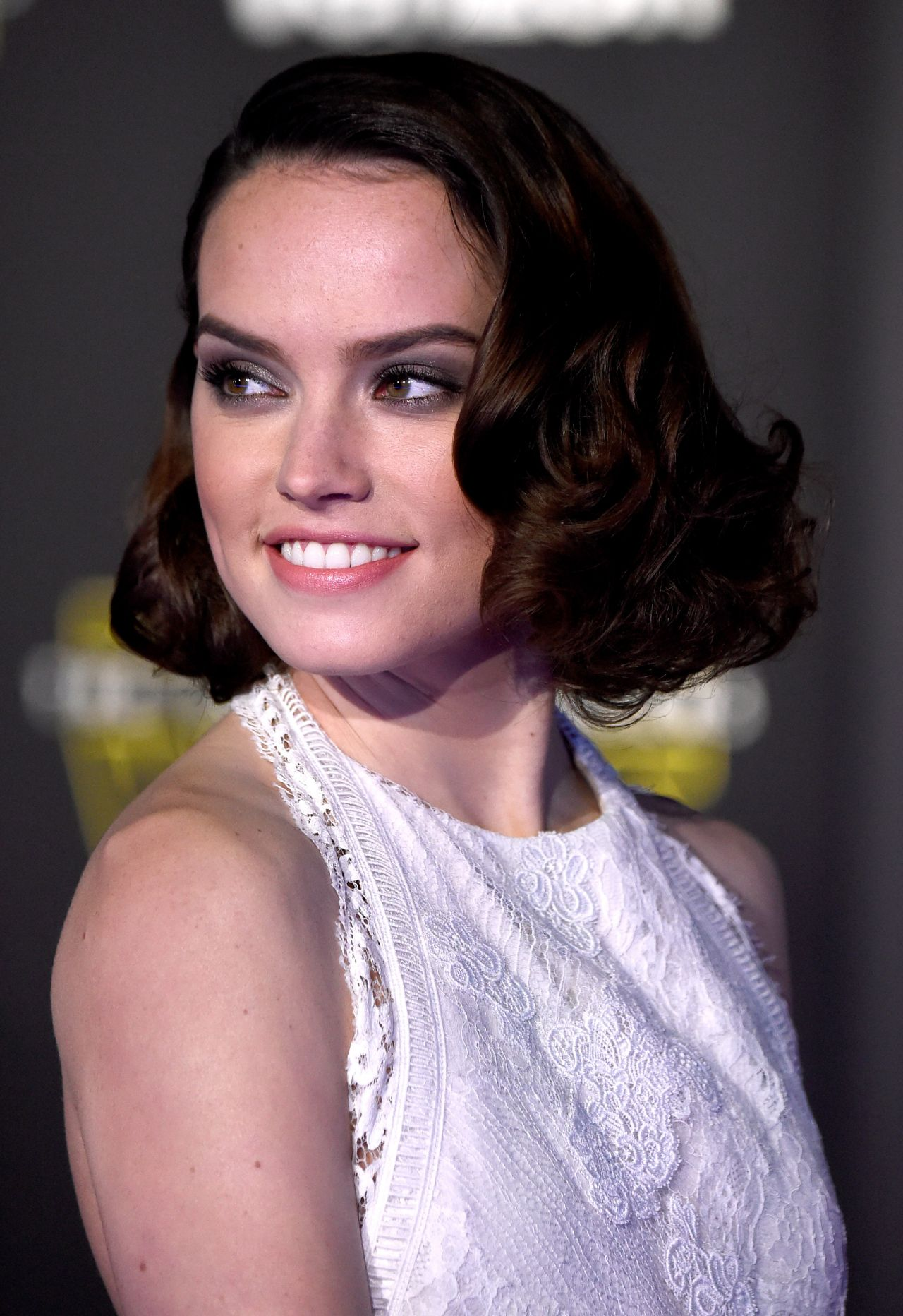 Daisy Ridley  Star Wars The Force Awakens Premiere in