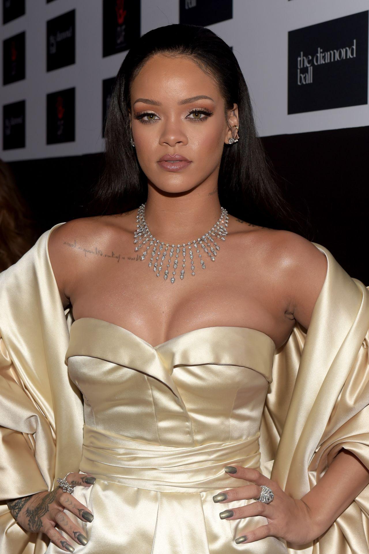 Rihanna 2015 Diamond Ball In Santa Monica 12102015