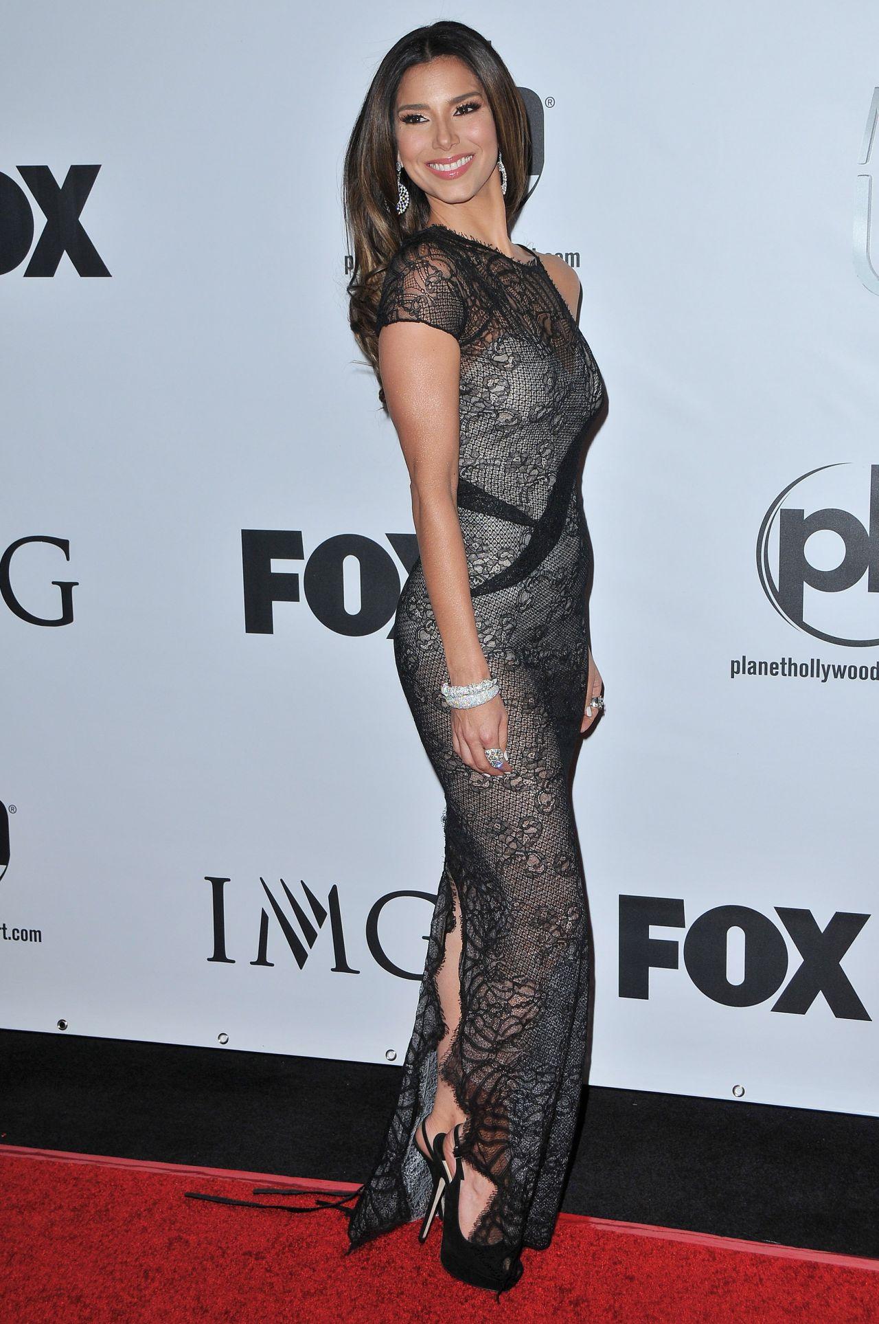 Roselyn Sanchez  2015 Miss Universe Pageant in Las Vegas