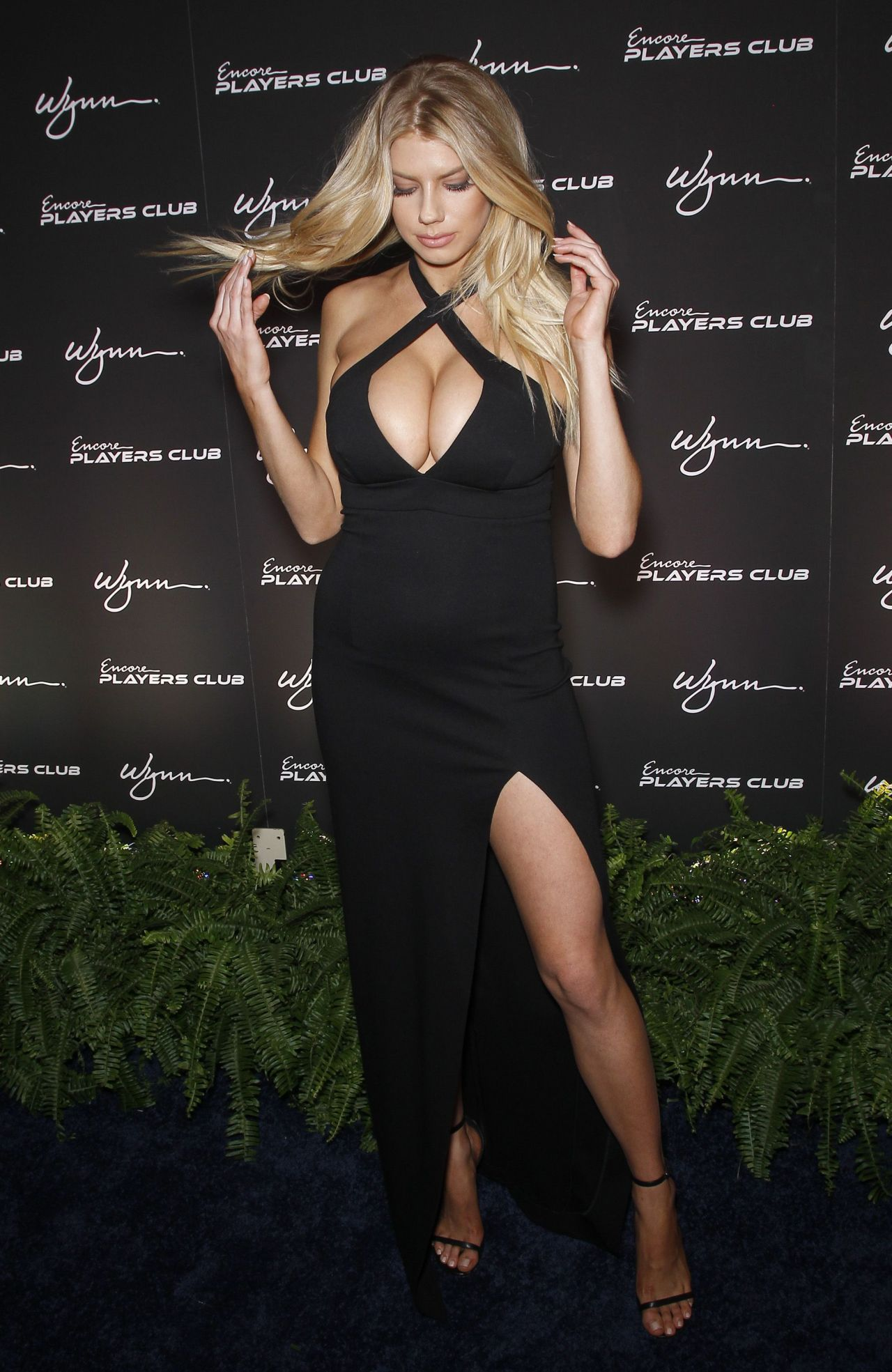 Charlotte McKinney  Encore Players Club Grand Opening in