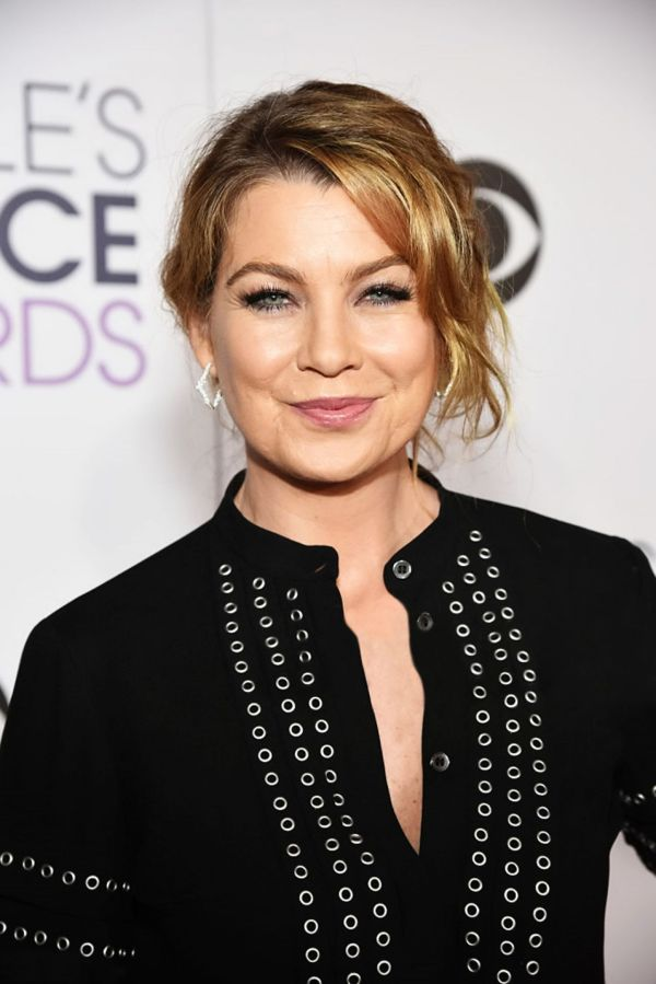 Ellen Pompeo 2016 People Choice Awards In Microsoft Theater Los Angeles