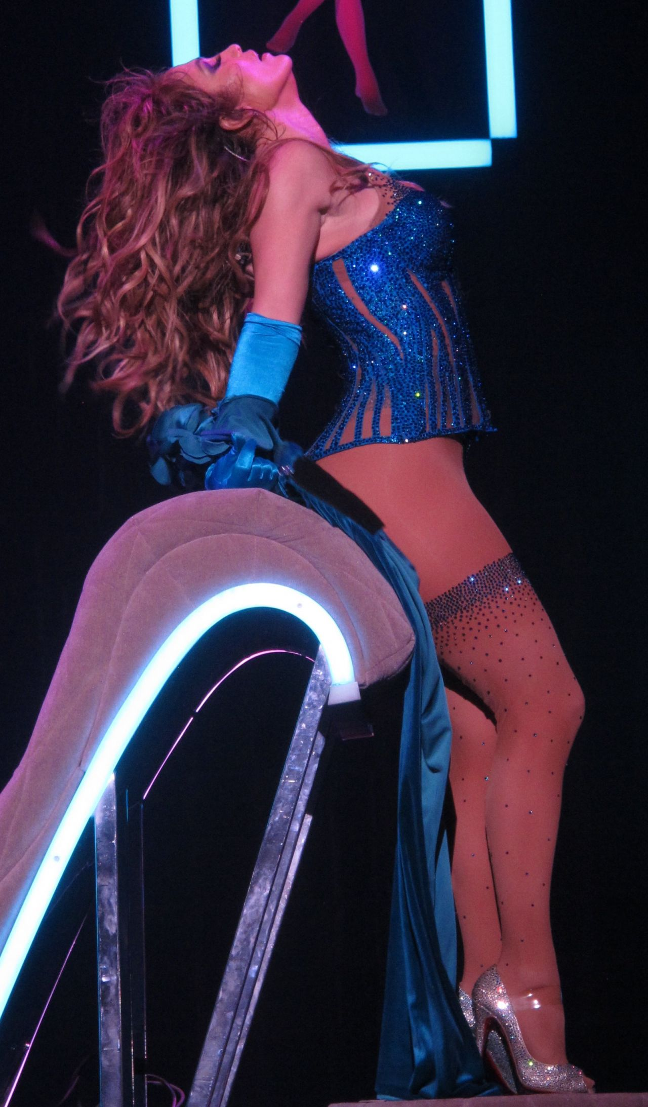 Jennifer Lopez Performs at Opening Night of Her All I Have Residency in Las Vegas January 2016