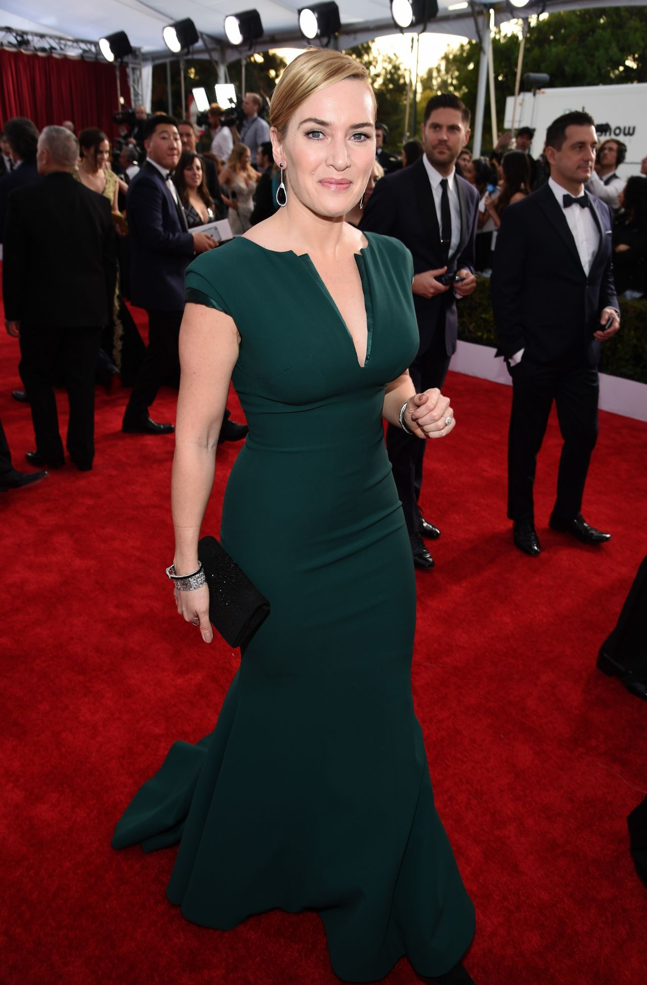 Kate Winslet  SAG Awards 2016 at Shrine Auditorium in Los Angeles