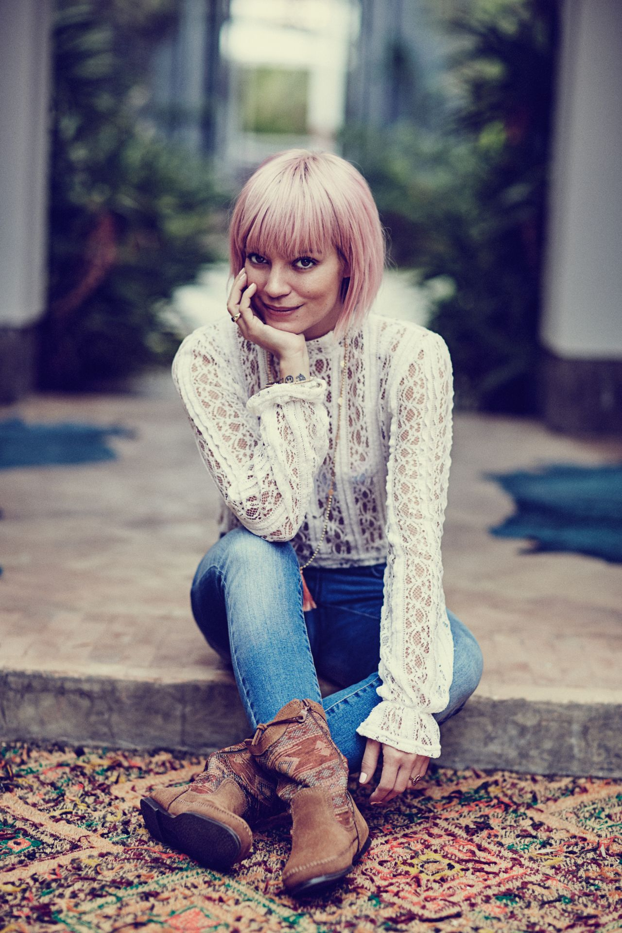 Lily Allen  Photo Shoot for Vero Moda Spring 2016