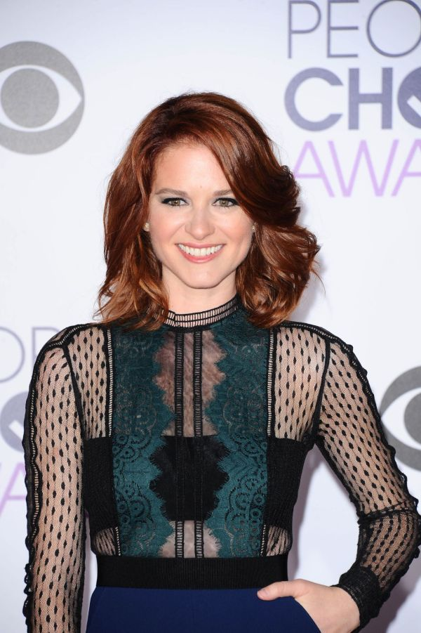 Sarah Drew 2016 People Choice Awards In Microsoft Theater Los Angeles