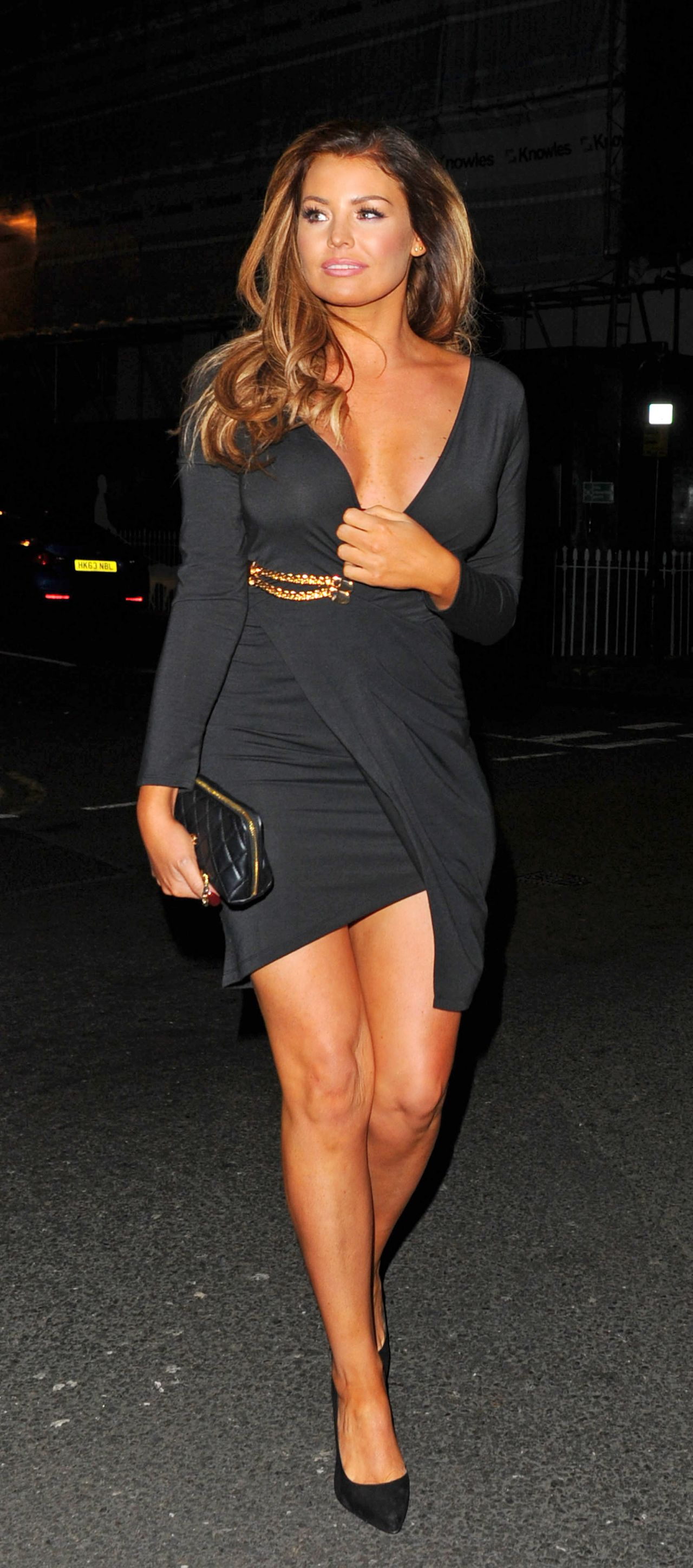 Jessica Wright Night Out Style  Sexy Fish Restaurant in