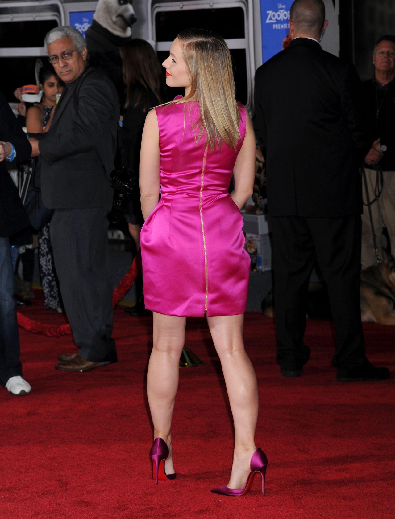 Kristen Bell Zootopia Premiere In Hollywood CA