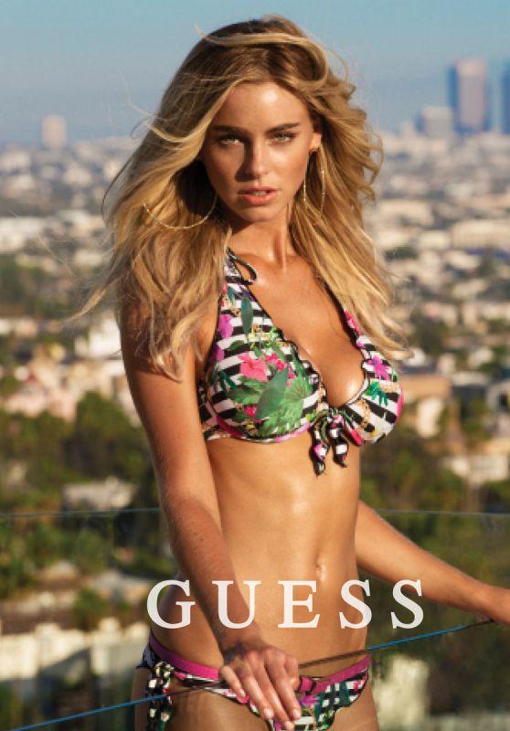 Elizabeth Turner in Bikini  GUESS Photoshoot 2016