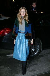 Olivia Palermo - Nina Ricci Fashion Show In Paris March 2016