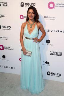 Sarah Shahi 2016 Elton John Aids Foundation Oscar