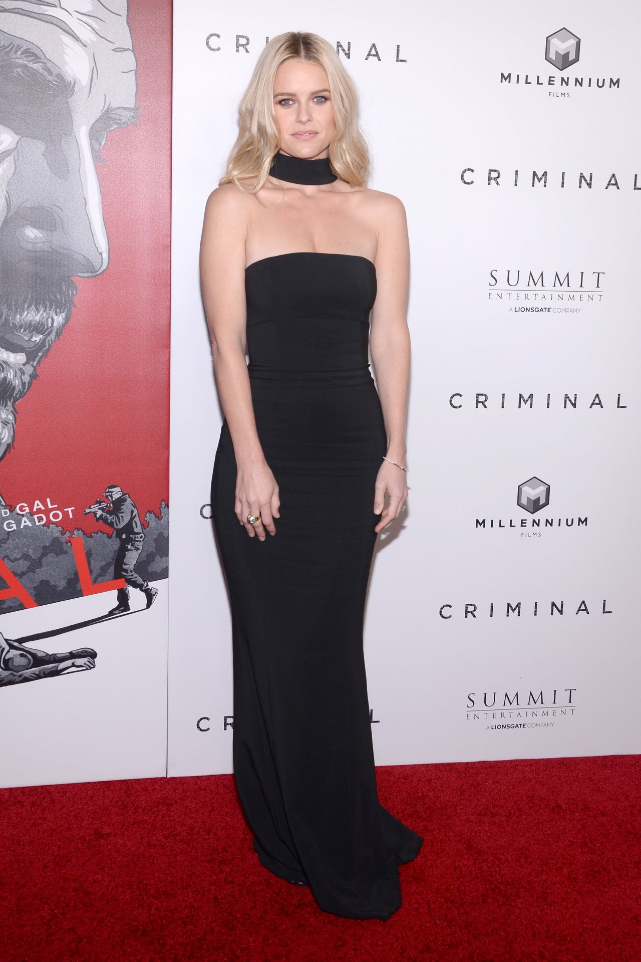 Alice Eve  Criminal Premiere in New York City 4112016