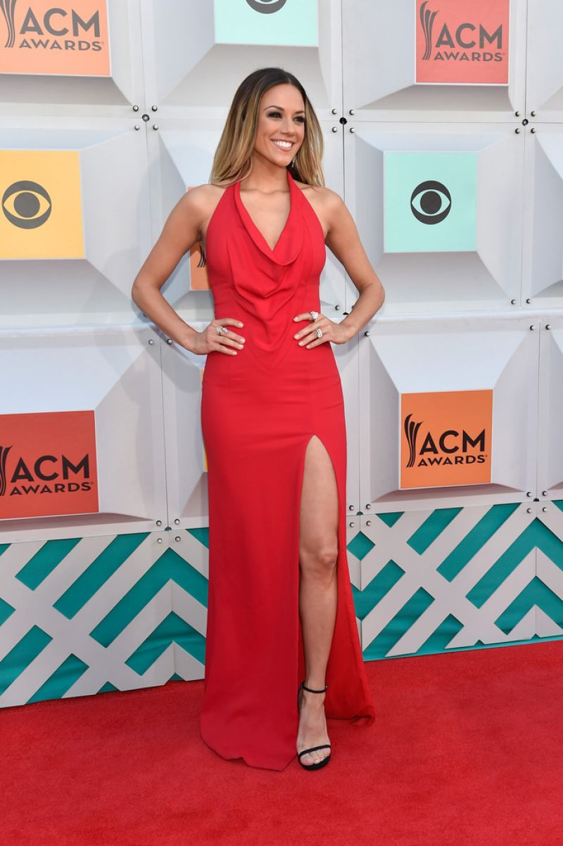 Jana Kramer Academy Of Country Music Awards 2016 In Las