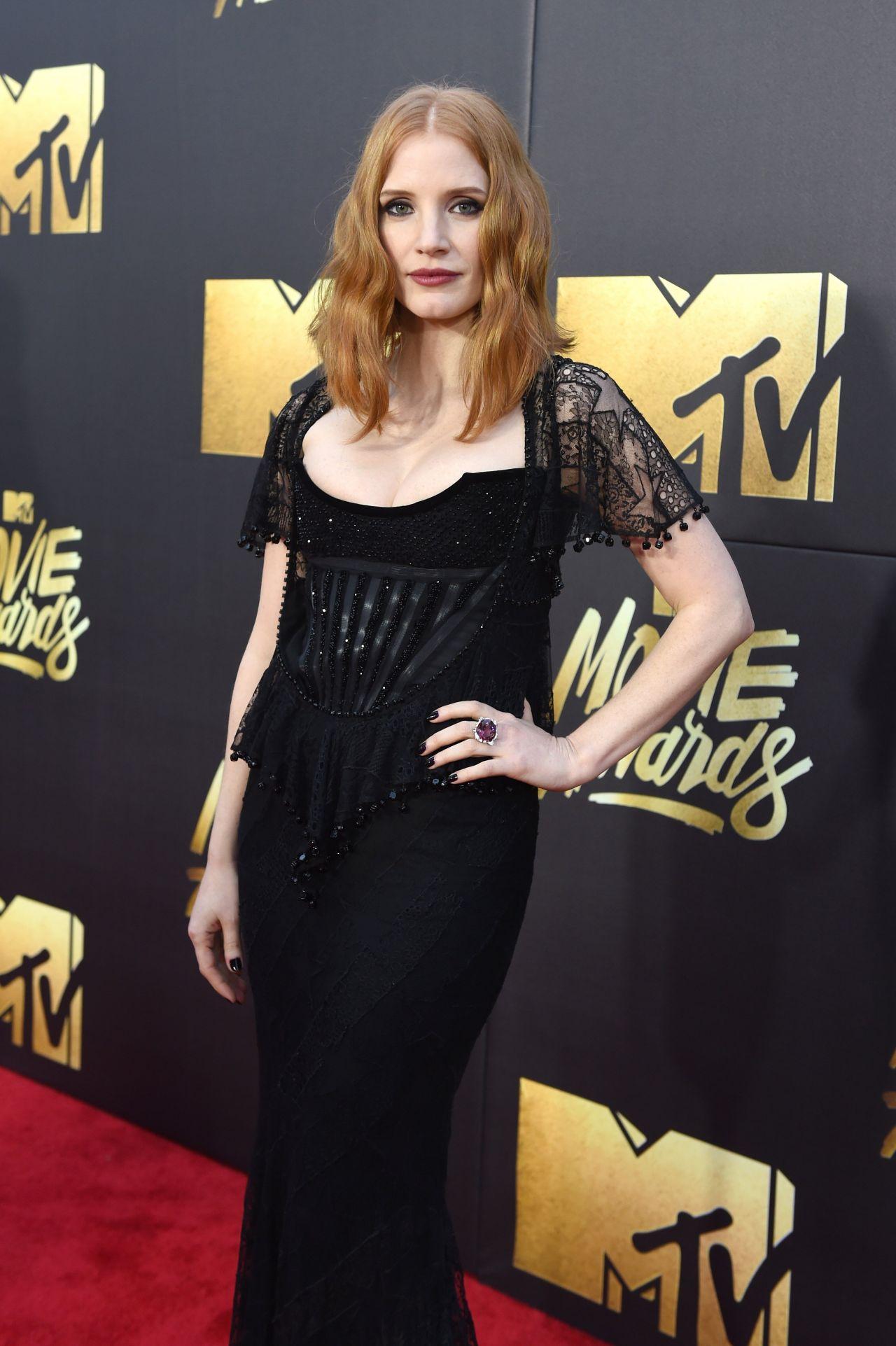 Jessica Chastain 2016 MTV Movie Awards In Burbank CA