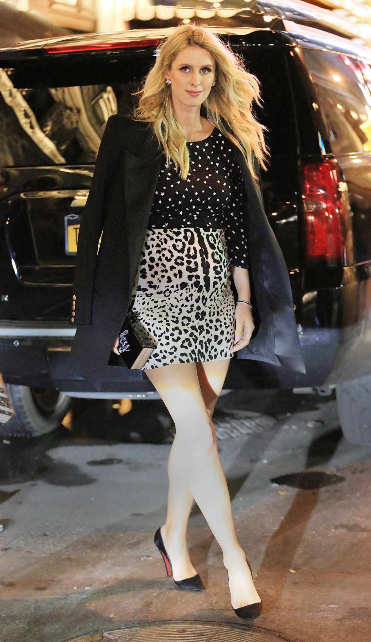 Nicky Hilton and Paris Hilton at Naomi Campbells Party in