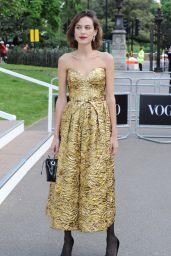 Alexa Chung – British Vogue 100th Anniversary Gala Dinner in London 5/23/2016