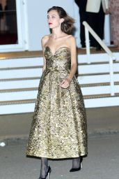 Alexa Chung – British Vogue 100th Anniversary Gala Dinner in London 5/23/2016