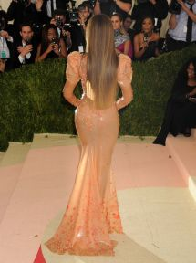 Beyonce Met Costume Institute Gala 2016 In York