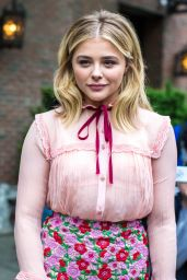 Chloë Grace Moretz - Leaving Her Hotel in New York City, 5/10/2016