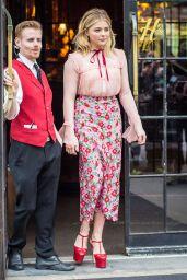 Chloë Grace Moretz - Leaving Her Hotel in New York City, 5/10/2016
