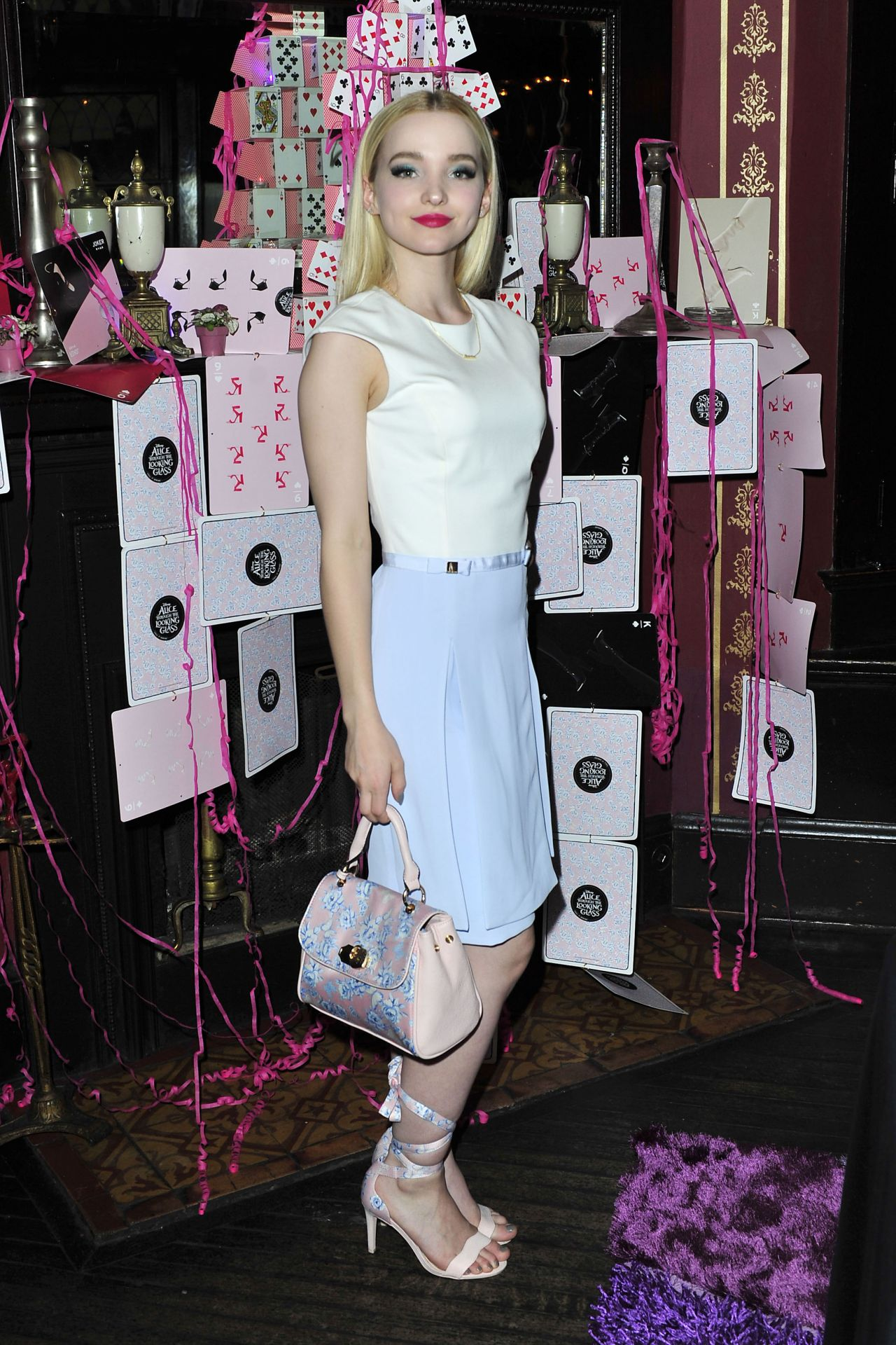 Dove Cameron Chic Outfit  Call It Spring Launch Party in