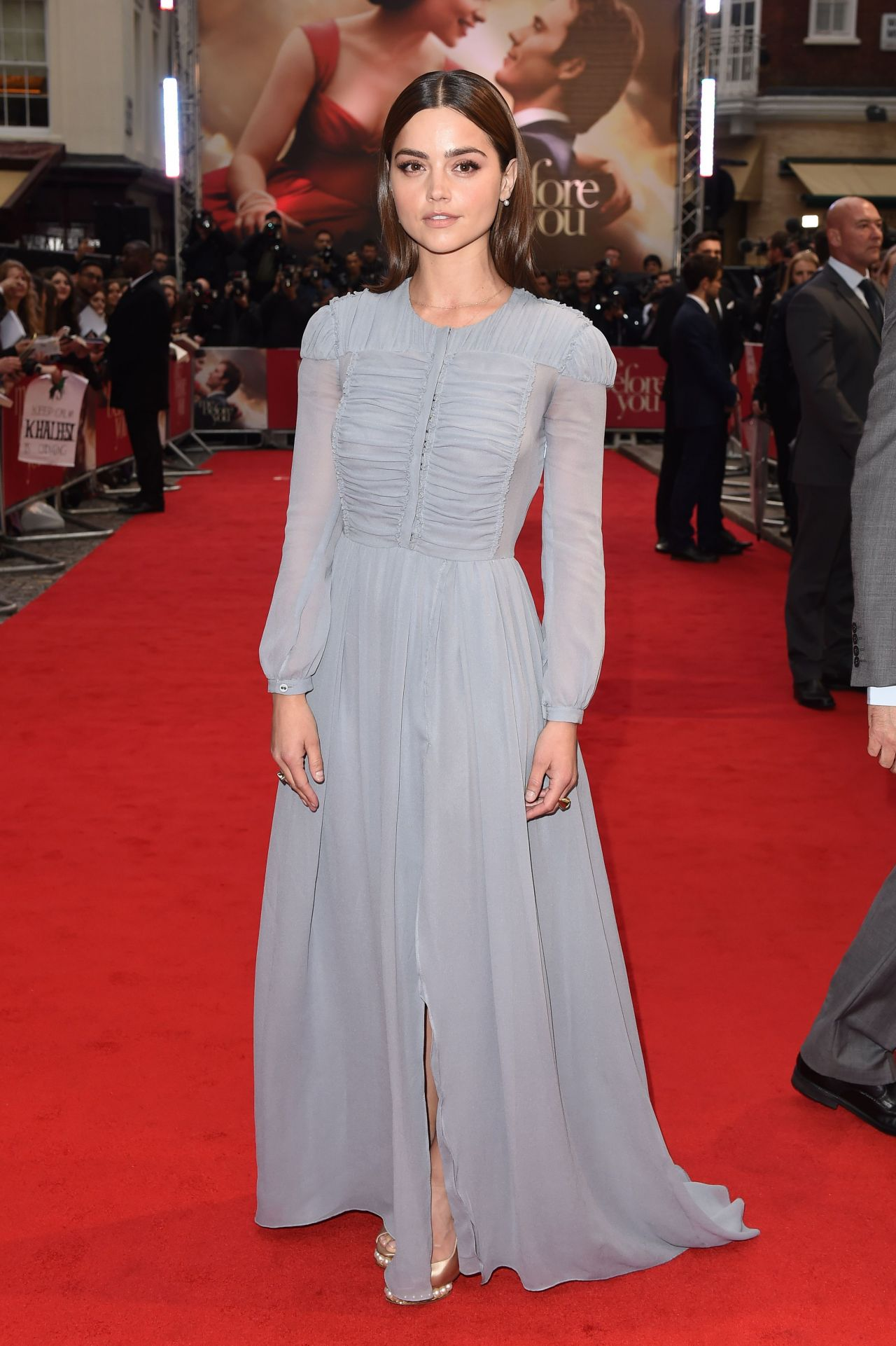 JennaLouise Coleman  Me Before You Premiere in London UK