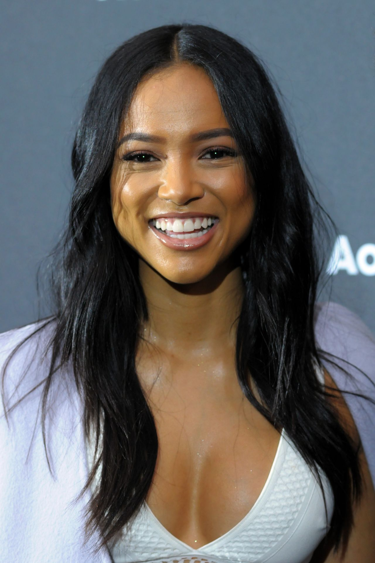 Karrueche Tran  AOL NewFront 2016 At The Seaport District