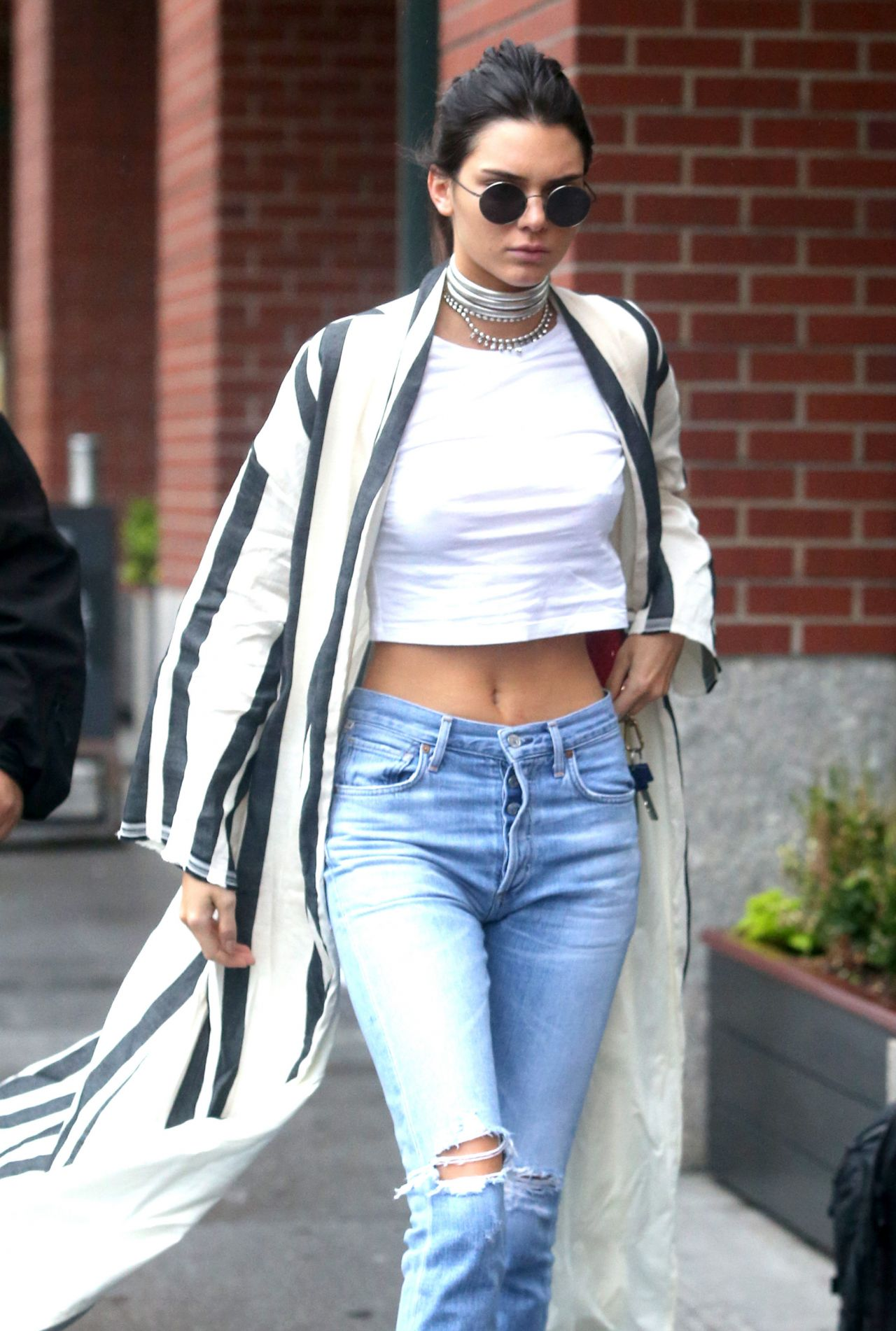 Kendall Jenner Casual Style  Out in New York City 512016