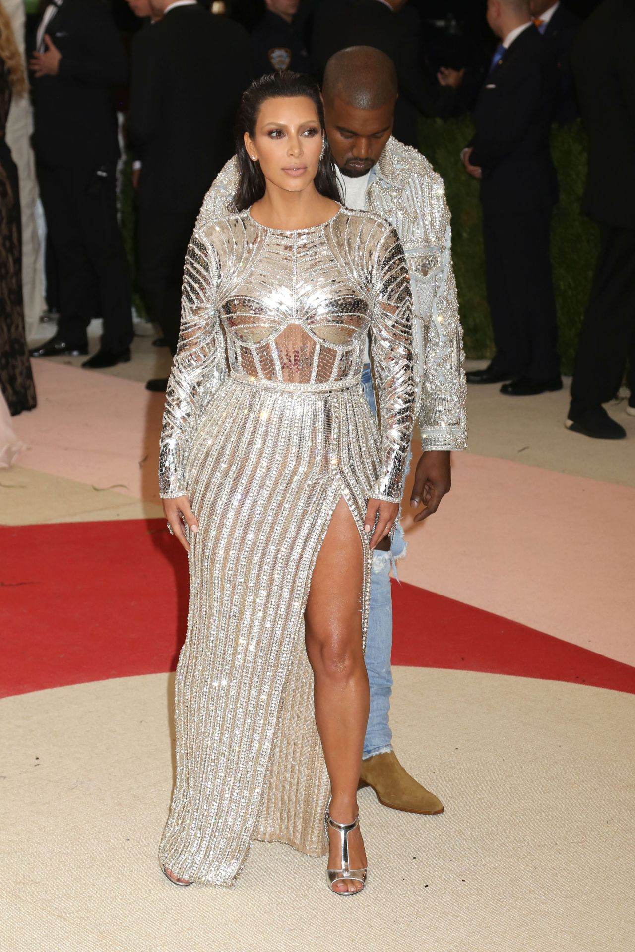 Kim Kardashian  Met Costume Institute Gala 2016 in New York