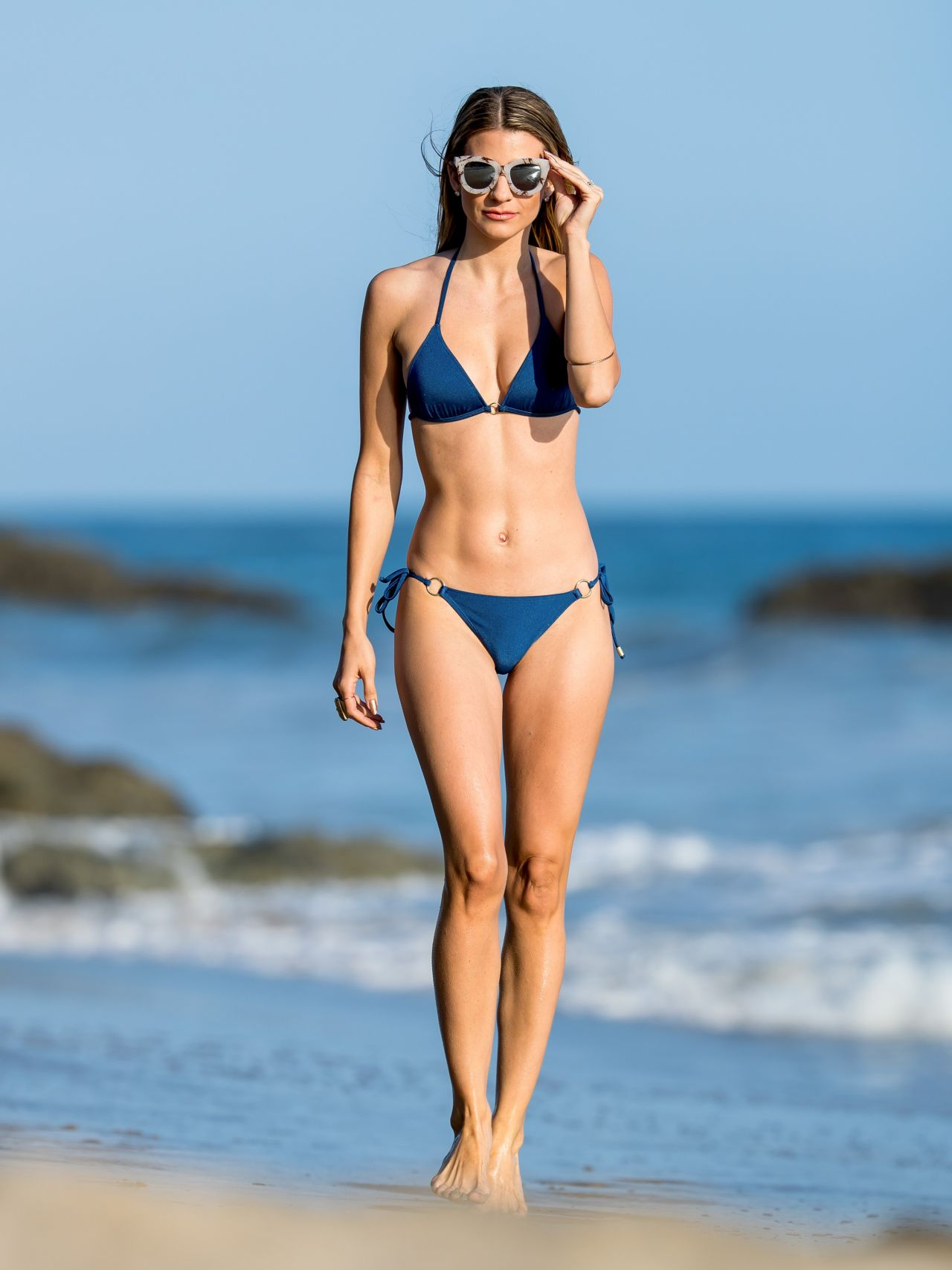 Rachel McCord in a Bikini at the Beach in Los Angeles 5292016