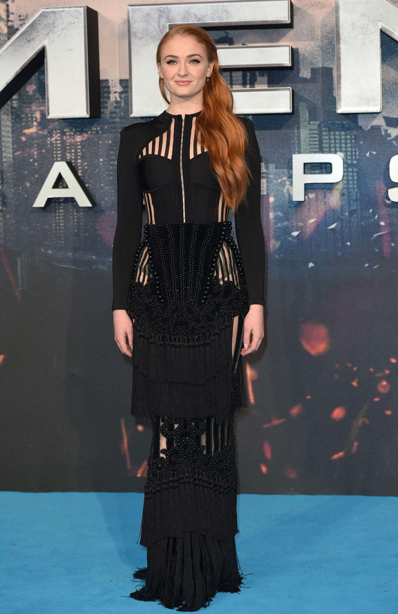 Sophie Turner  XMen Apocalypse Premiere in London UK 5