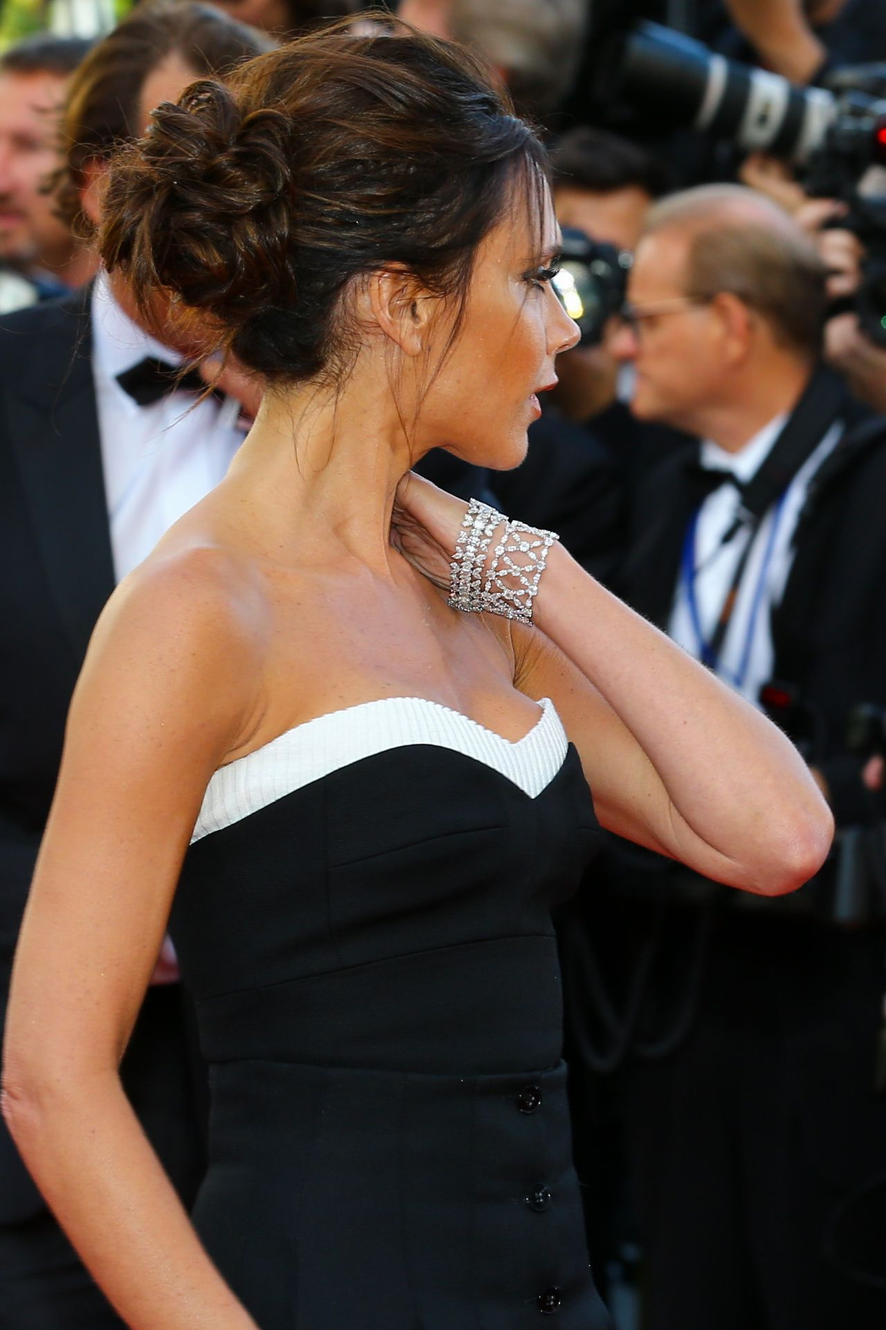 Victoria Beckham Cafe Society Premiere And The Opening