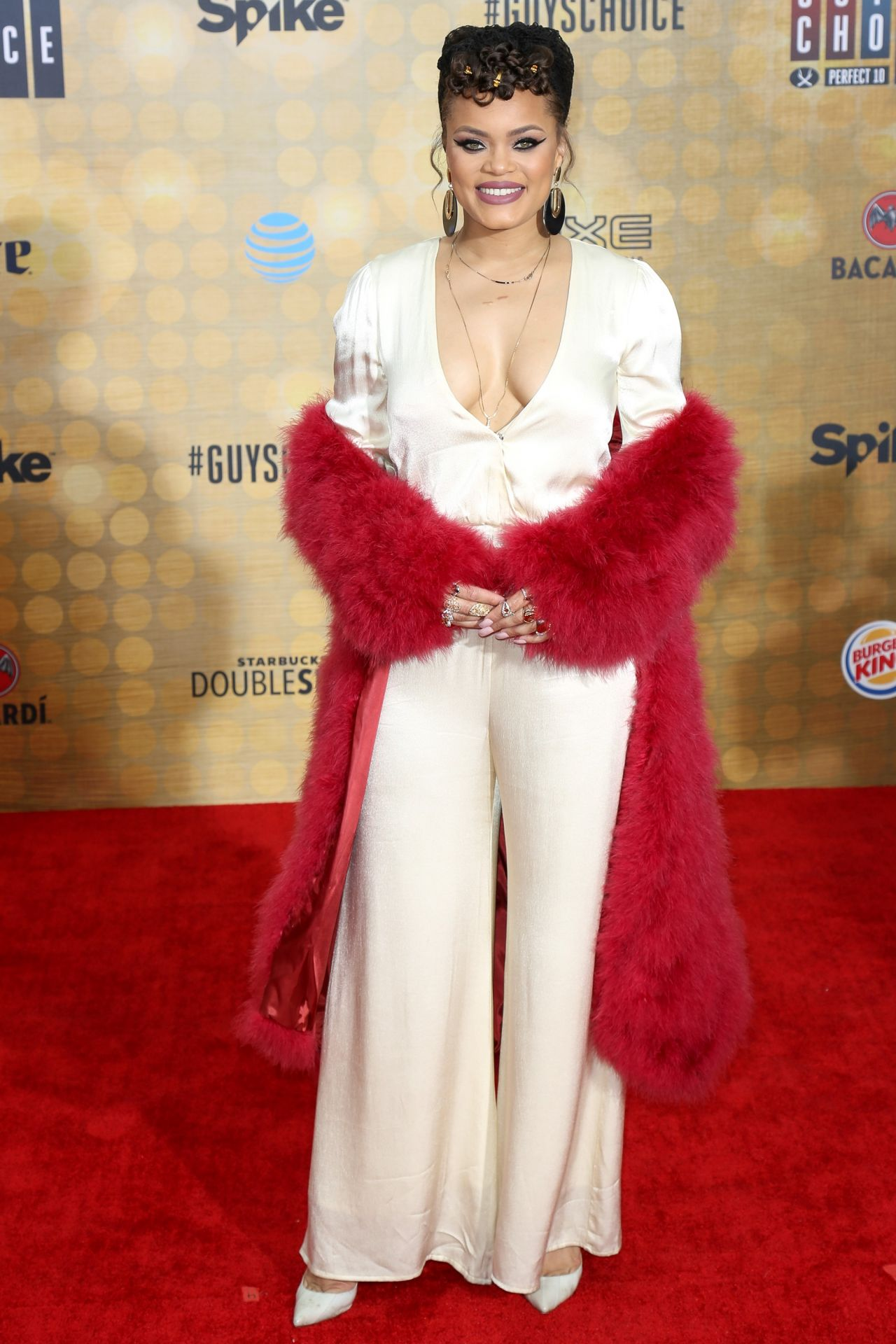 Andra Day  Spike TVs Guys Choice 2016 in Culver City CA