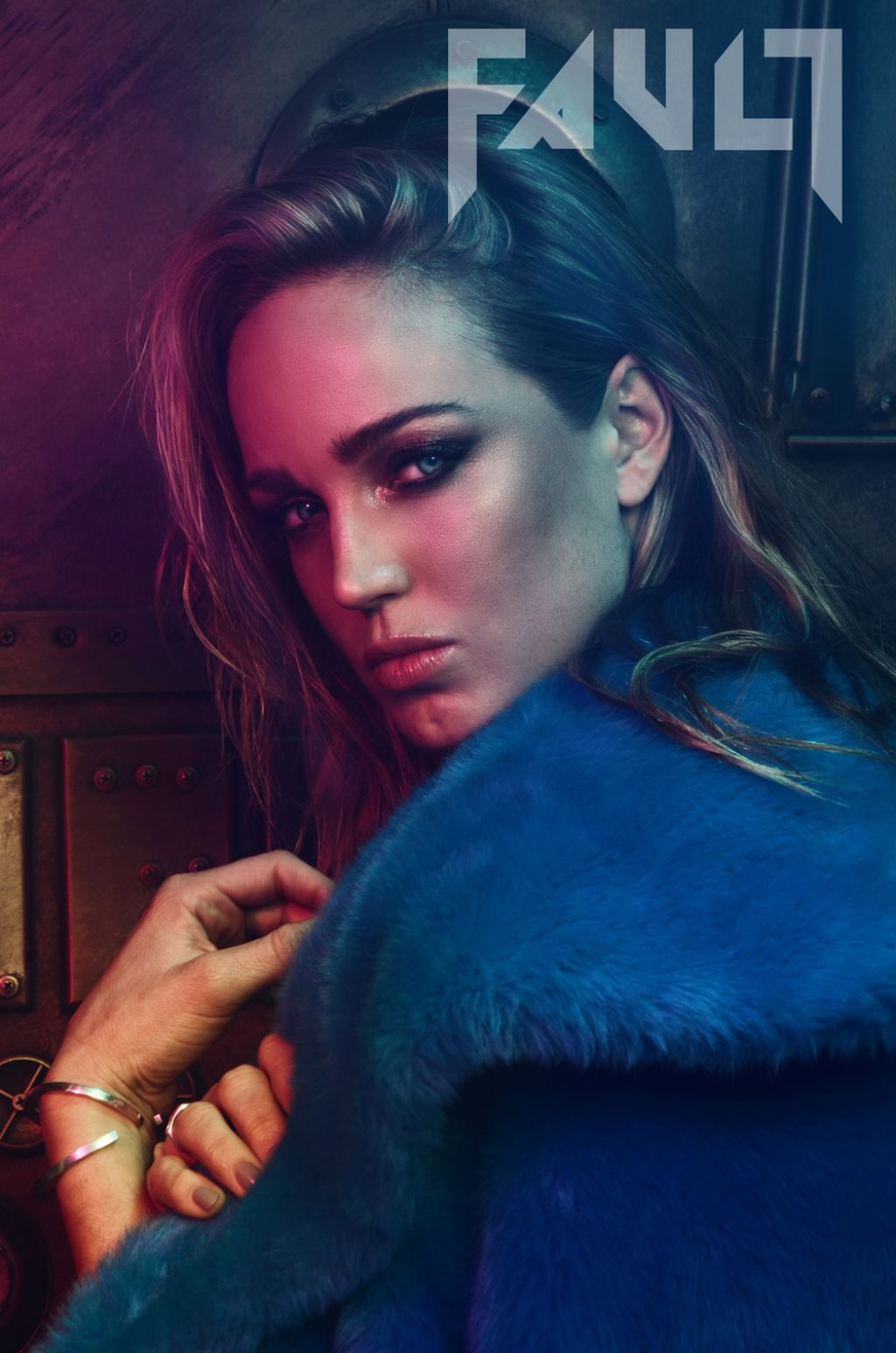 Cat In Fall Wallpaper White Caity Lotz Fault Magazine 2016