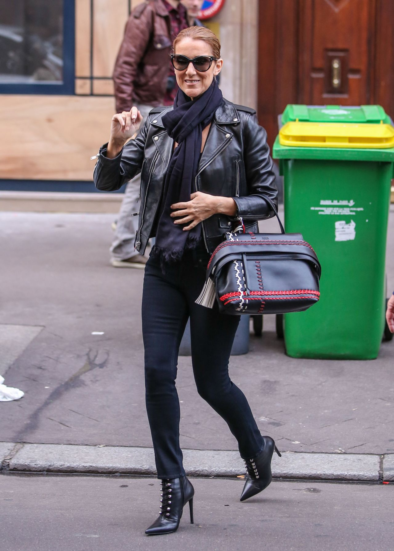 Celine Dion  Meets Some Fans in Paris 6182016