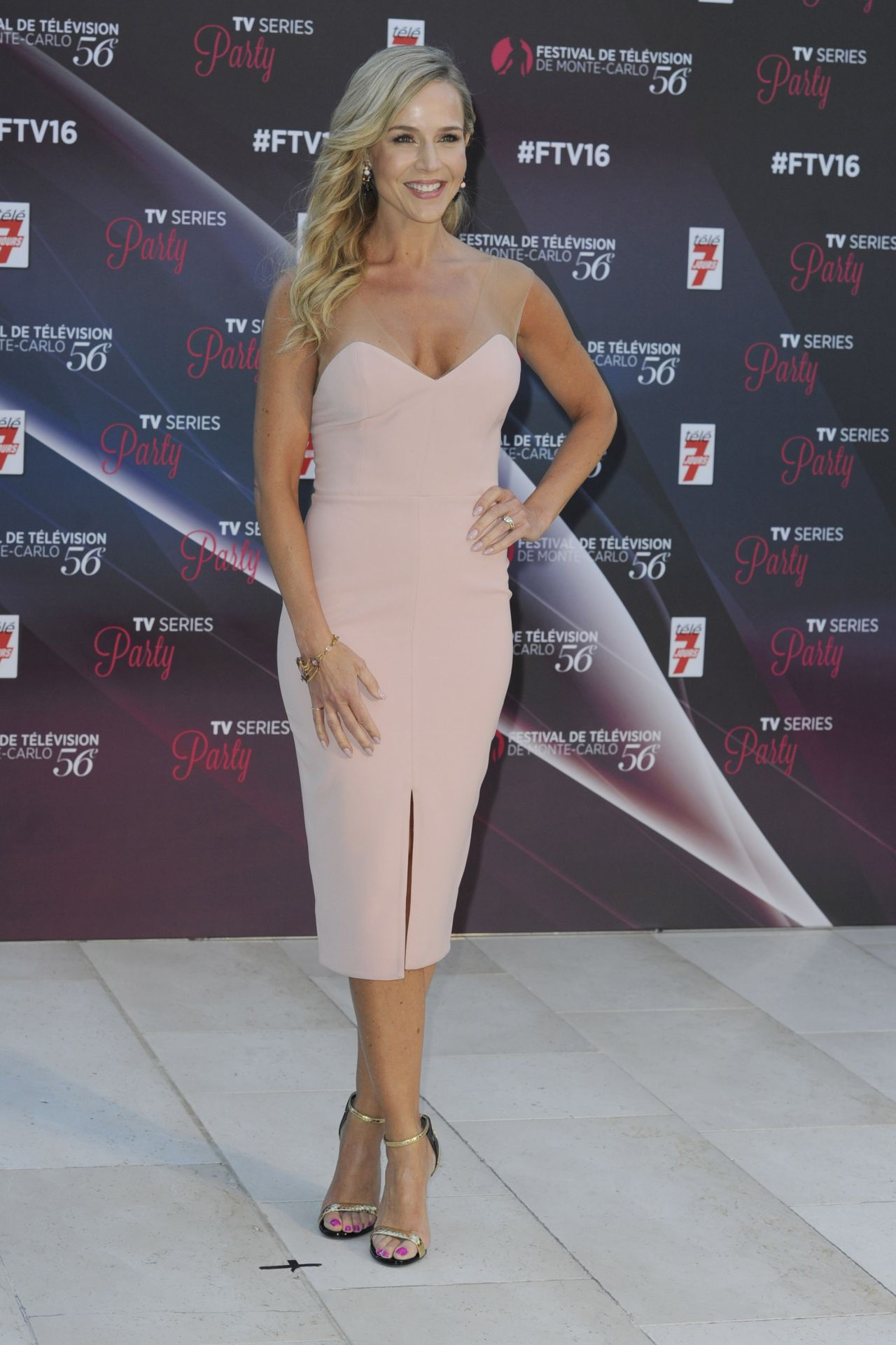 Julie Benz  TV Series Party at the 56th MonteCarlo Television Festival in Monaco