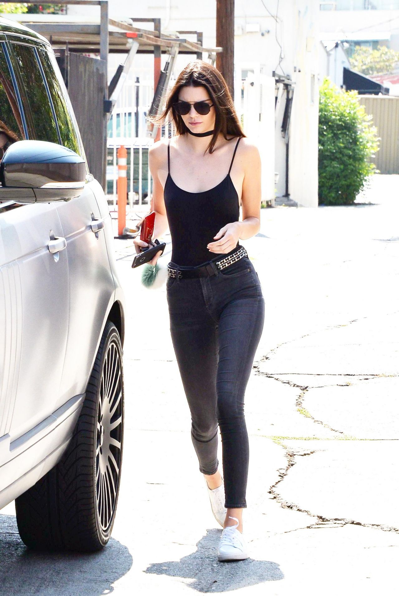 Kendall Jenner in Skinny Jeans  Out in West Hollywood 67