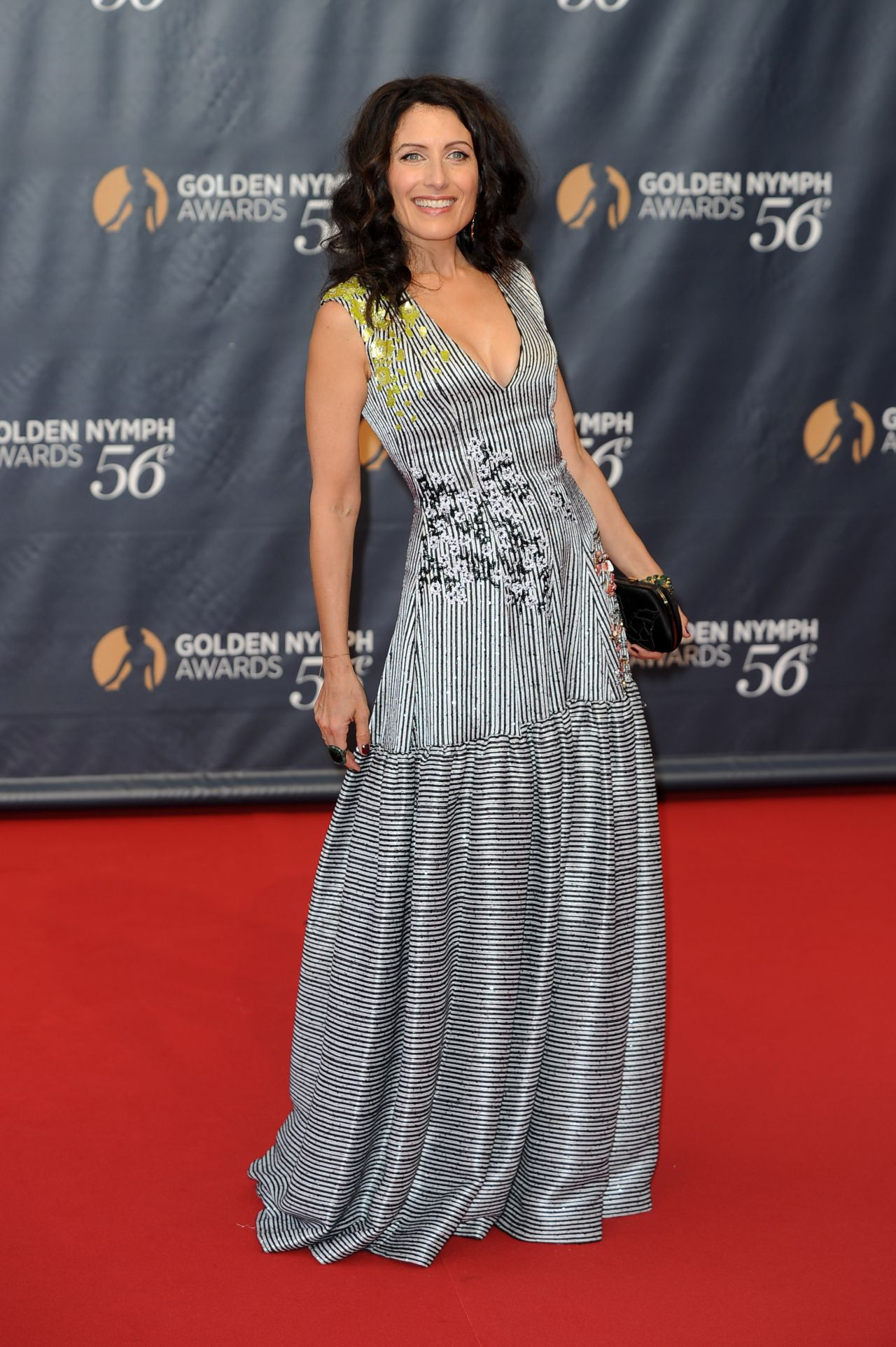 Lisa Edelstein  2016 Monte Carlo Television Festival